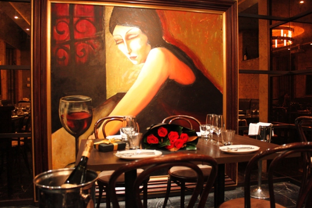Valentine's Day at GPO Grand, GPO Cheese & Wine Room