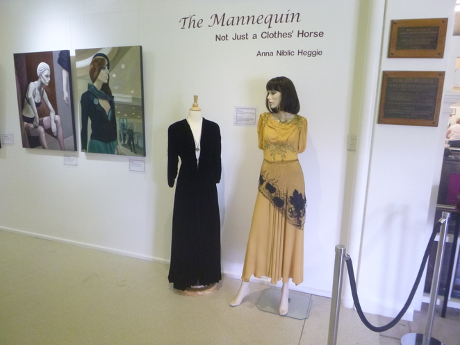 Anna Heggie's floor talk The Mannequin - Not Just a Clothes' Horse