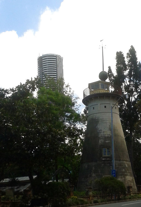 Brisbane's oldest Building, the Old Windmill in Spring Hill