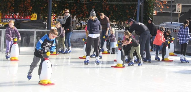 Winter in the park, gosford, central coast, 2018, ice skating, winter, snow play, fun for kids, stuff for kids, kibble park,