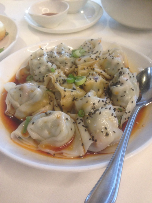 wontons red chilli sauce