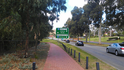 Sanctuary Park at the gateway to the South and South West of Western Australia