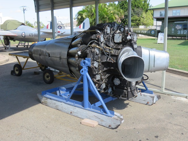 airplane, jet engine, aircraft, RAAF, museum, Townsville