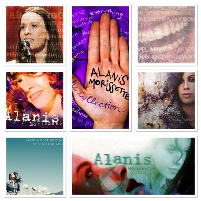 Alanis Morissette, Jagged Little Pill, The Collection, Supposed Former Infatuation Junkie, So Called Chaos, Under Rug Swept