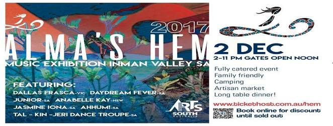 Alma's Hem Music Exhibition 2017 at Inman Valley