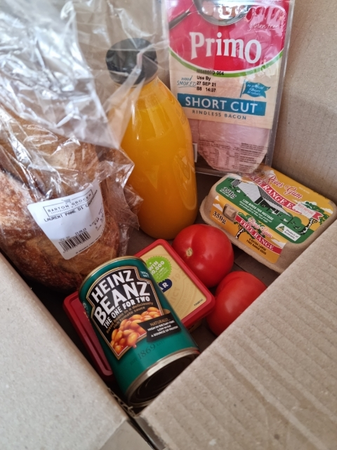 Barton Grocer, breakfast, home delivery
