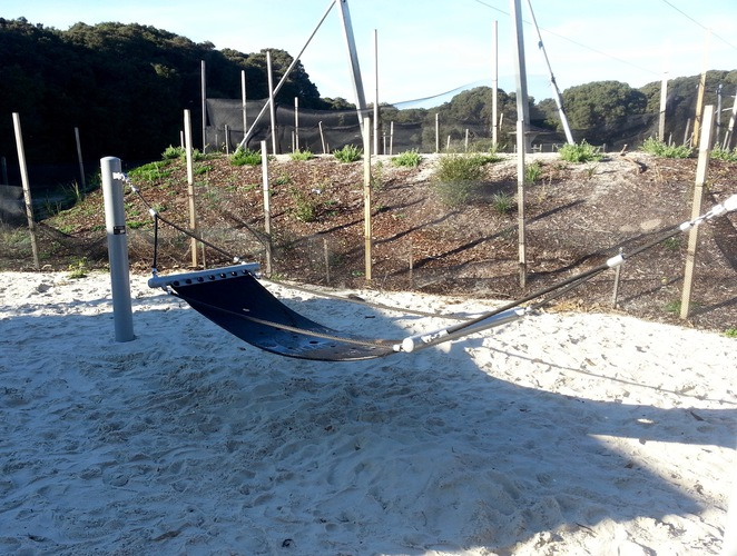 Barwon Heads Village Park, Pirate Park, Hammock