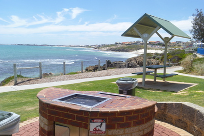 Beach, Barbeque, BBQ, Perth, North, Watermans, Park