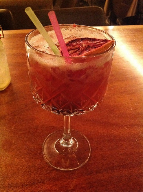 Berry Blast Mocktail, Bhoomi Glebe
