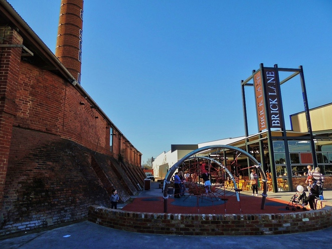 brickworks marketplace, brickworks markets, shopping mall, markets, brick lane, food choices, west torrens council, playground for kids