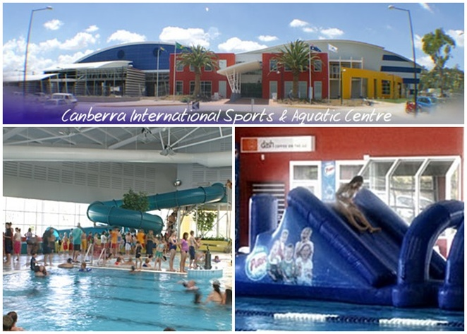 canberra international sports and aquatic centre, bruce, belconnen, club blue, waterslides, ACT, indoor pools, best for kids, toddler pools, swimming,