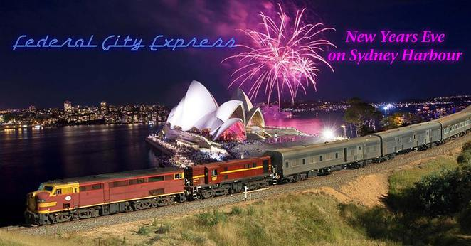 Canberra Railway Museum New years Eve Train, Federal Express, Canberra, Sydney fireworkds, new years eve canberra 2015,