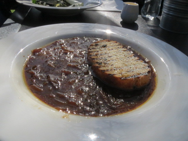Carrick Hill Cafe, French Onion Soup, Adelaide