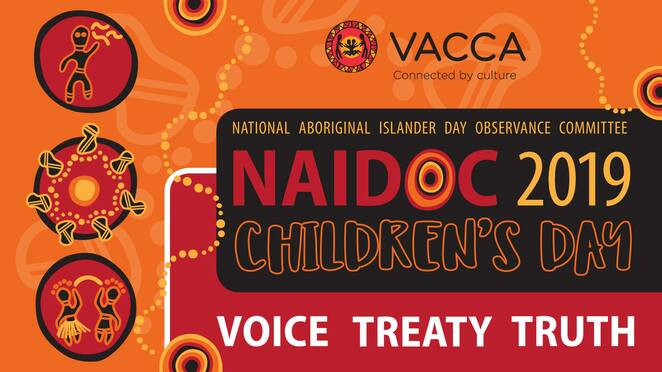 children's day northern vacca 2019, community event, fun things to do, victorian aboriginal child care agency, vacca, aborigines advancement league, welcome to country, free event, smoking ceremony with aunty diane kerr, lunch, face painting, jewellery making, indigenous hip hop, children's disco, dj fosters, singing by brett lee, free bike raffle