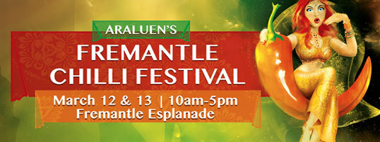 araluen 39 s fremantle chilli festival perth. Black Bedroom Furniture Sets. Home Design Ideas