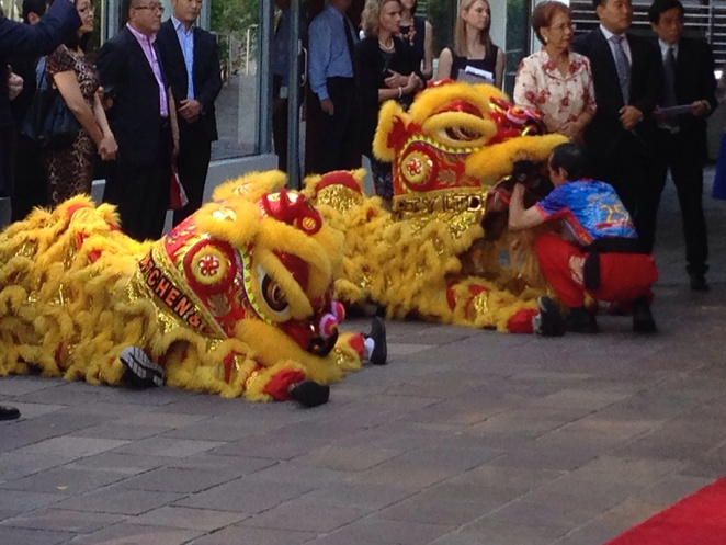 Chinese Dragon Dancers