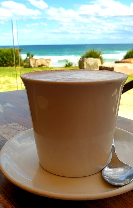 Coffee, views, waterfront, cafe, Port Stephens, casual, family, relaxed, breakfast, lunch