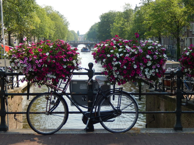 Cycling, Amsterdam, health, fitness