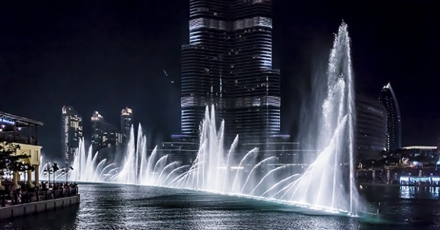 Dubai Fountains Downtown Dubai