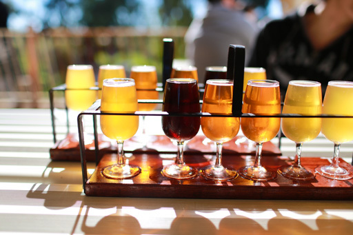 feral brewing company swan valley, feral brewing company, feral brewery swan valley, feral brewery, beer tasting tray