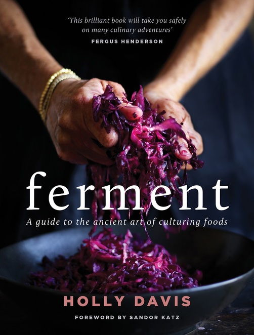 Ferment Holly Davis author chef wholefoods Murdoch Books