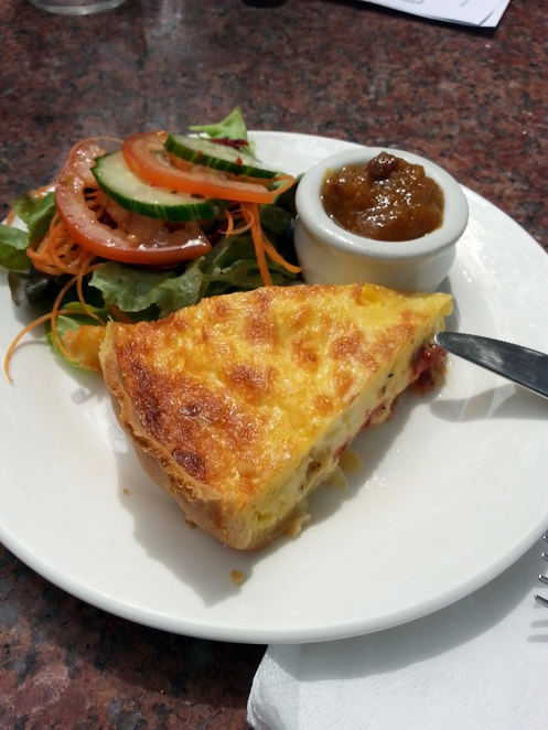 Flaxton Barn - Quiche