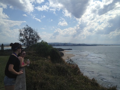 From this side of the headland you can see Mooloolaba, Alexandra Headland, Maroochydore, the Maroochy River mouth at Cotton Tree and Mount Coolum - you can't ask for more