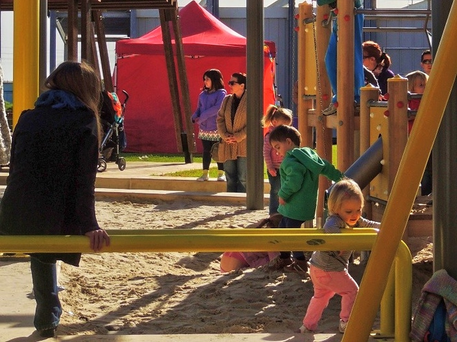 harts mill market, harts mill precinct, harts mill playground, harts mill, wild at heart market, port adelaide inner harbour, port adelaide loop path, play equipment, activities for kids, sand pit
