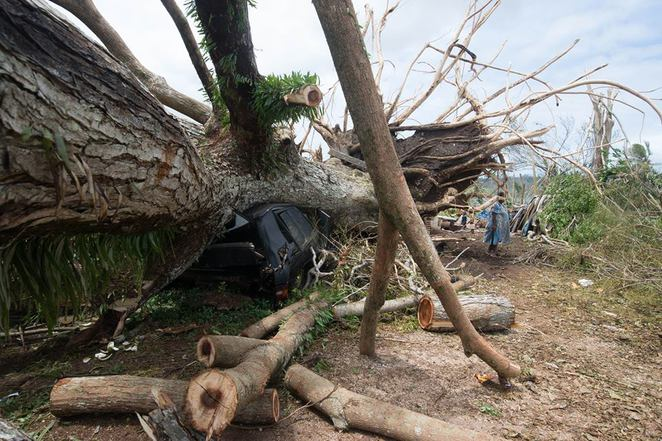 Humans of Vanuatu, Cyclone Pam