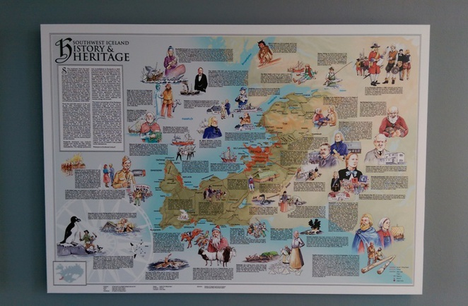 iceland map history heritage