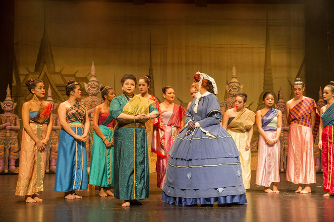 Scene from the King & I. Image supplied.