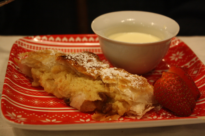 Strudel on the Jani Day Lunch Menu