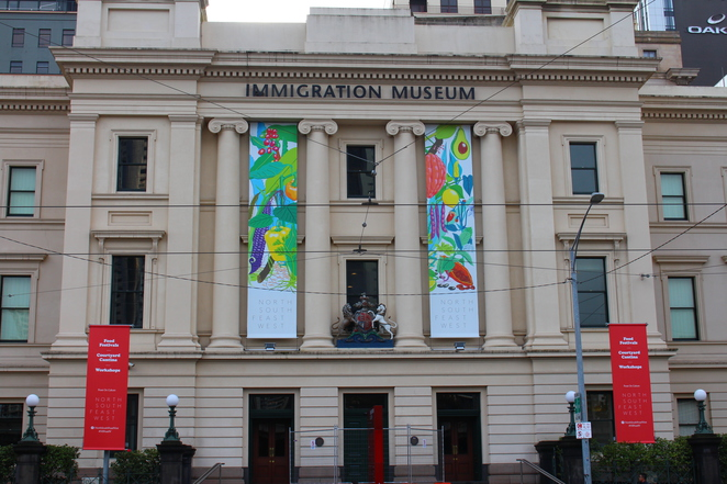 Immigration museum, Golden mile