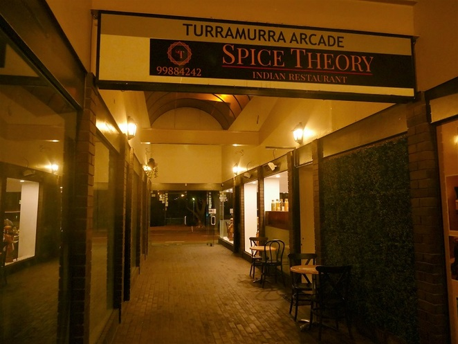 Indian cuisine north shore sydney Spice Theory Turramurra