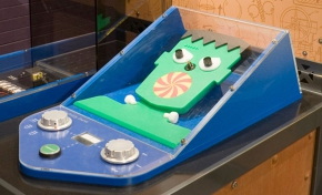 Innovation Factory - Invent and Play, UniSA City West campus, Questacon, Electric Face