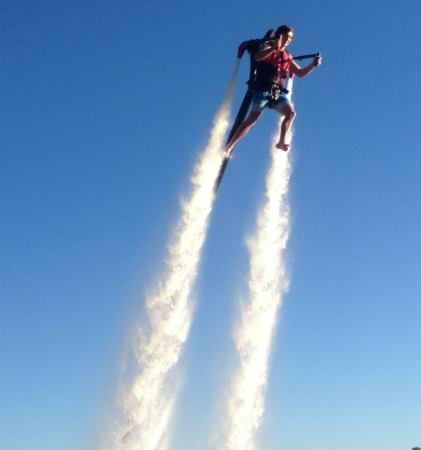 jetpack, fly, soar, Gold Coast, Father's Day