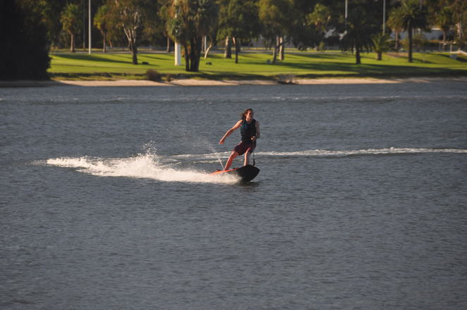 Jetsurfing on the Swan River