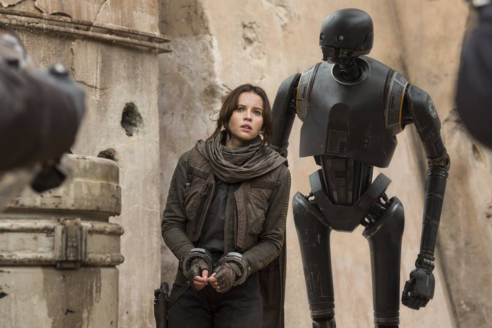 Image result for Rogue One Jyn Erso K2So