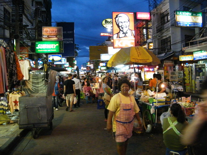 khao san bangkok shopping food thai thailand cheap hotel dorm guesthouse