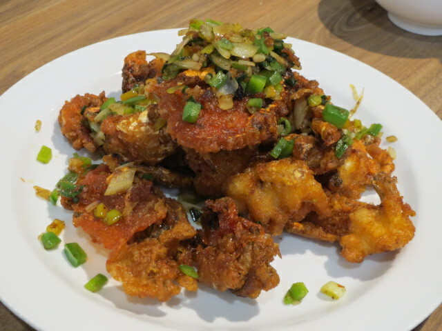 Kung Fu Express, Salt & Pepper Soft-shell Crab, Adelaide