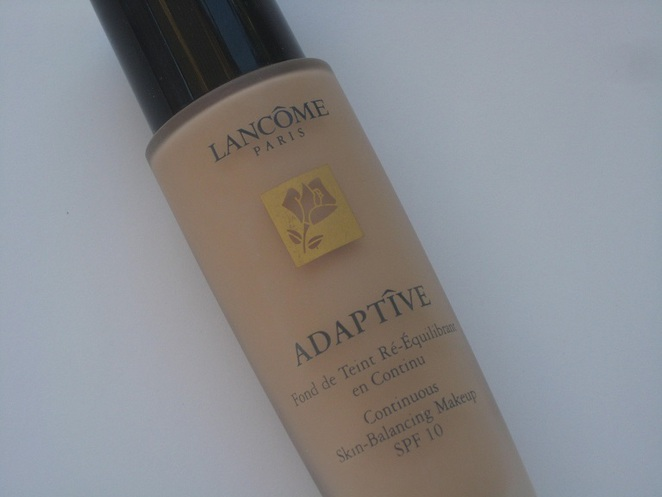lancome adaptive liquid foundation