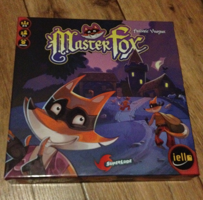 Master Fox, board game, master Reynard, board game for kids, strategy game for kids