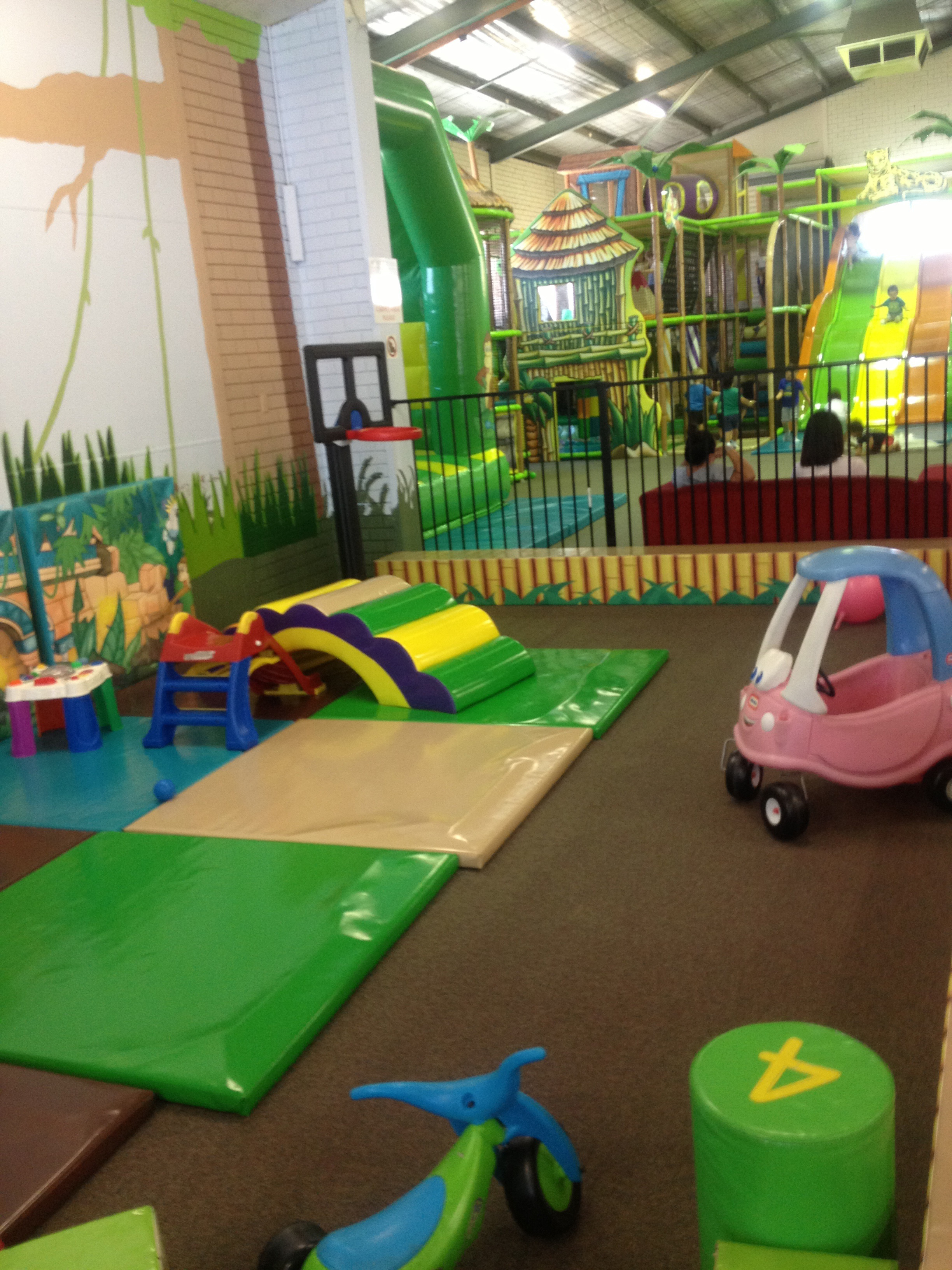 Play At American Girl: Mighty Jungle Indoor Play Centre