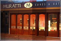 Muratti cakes, Adelaide cake and coffee, best coffee shops in Adelaide