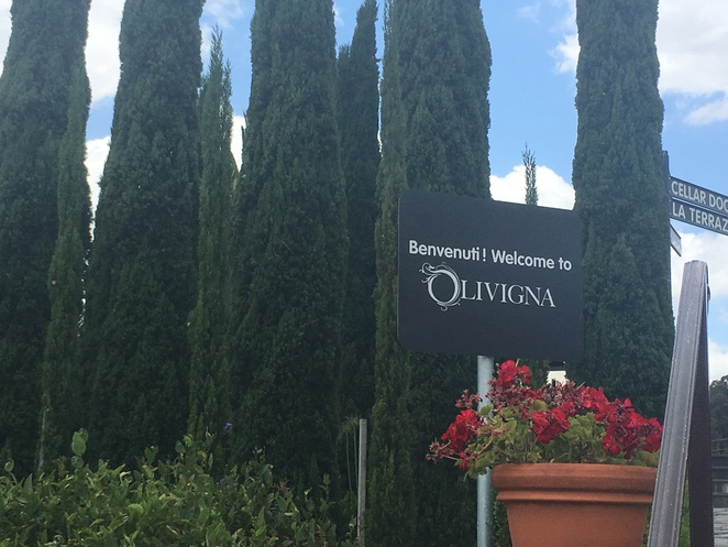 Olivigna winery Italian food Warrandyte
