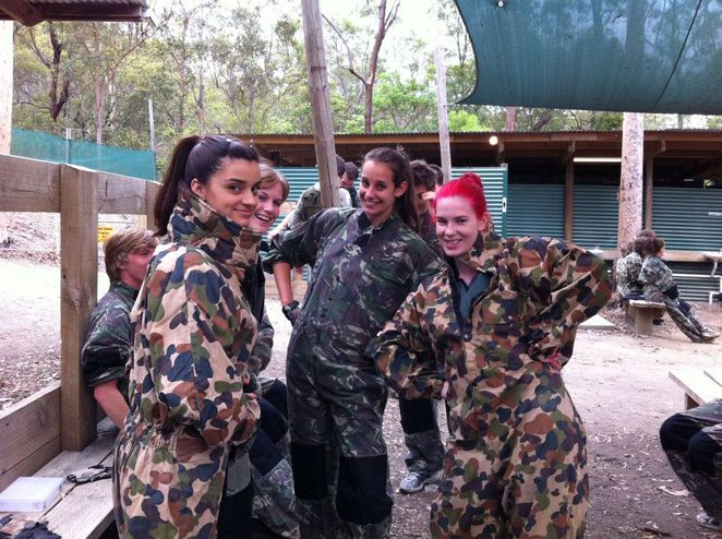Paintball, Brisbane, Skirmish,