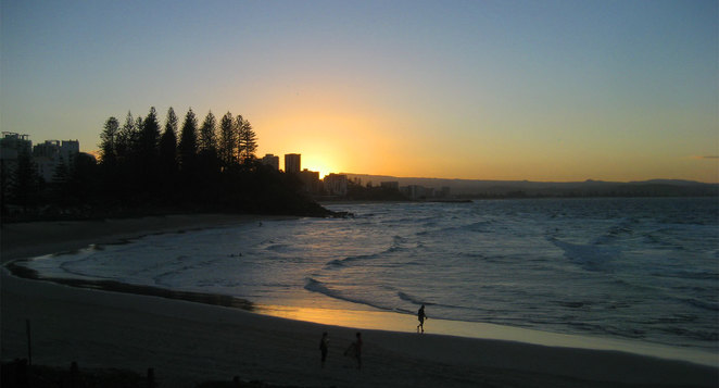 Sunset at Rainbow Bay