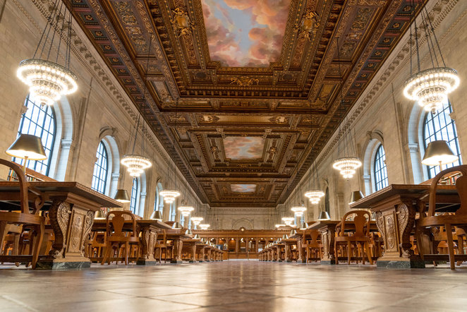 Rose Main Reading Room, The New York Public Library