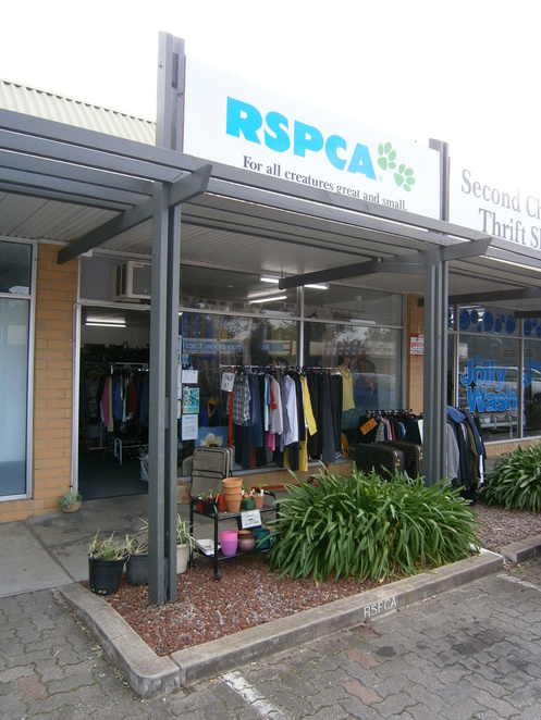 RSPCA, Blackwood, op shop