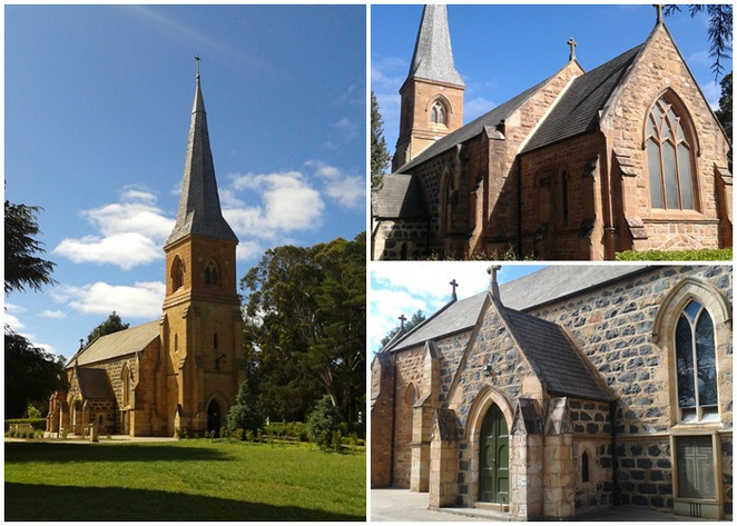 st johns the baptist church, canberra, reid, canberras oldest church, ACT, historical buildings